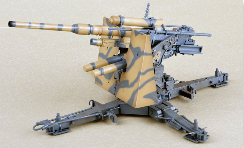 German Flak 36 88MM Anti-Aircraft Gun  1:18