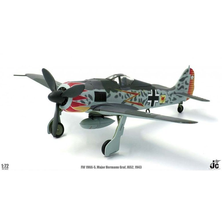 FW-190A, Major Hermann Graf, Luftwaffe JG52  (ca. April lieferbar)