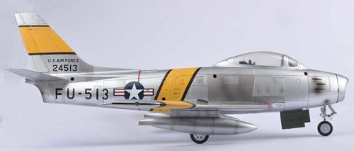 "F-86F Sabre USAF ""Major Jabara"" 1:18"