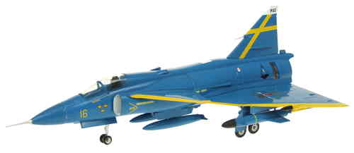 Saab Viggen Blue Peter Uppsala Swedish AF