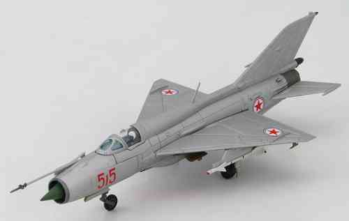 "MiG-21PFM Fishbed, North Korean Air Force, ""Red 515"""