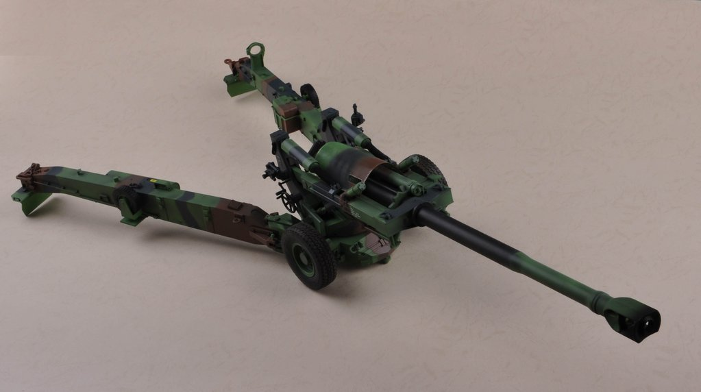 US M198 155mm Towed Howitzer  1:16   ***ANGEBOT***