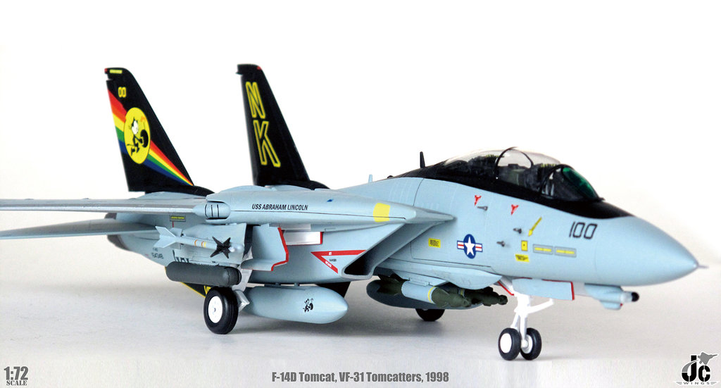 F-14D Tomcat VF-31 Tomcatters CVW14 USS Abraham Lincoln