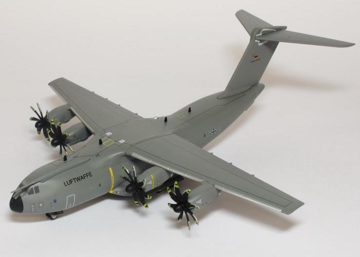 AIRBUS 400 M Luftwaffe Bundeswehr LTG 62  XXL Aircraft  YAKAiR WOODMODEL