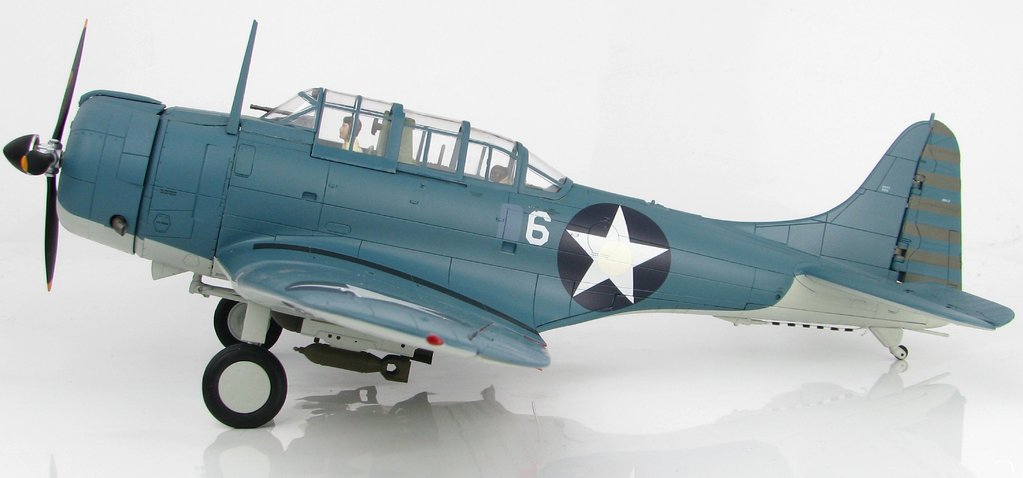 "SBD-2 Dauntless ""Battle of Midway"" BuNo 2106, VMSB-241  1:32"