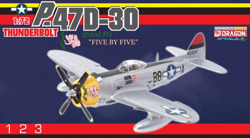 "P-47D Thunderbolt ""Five by Five"" USAAF"