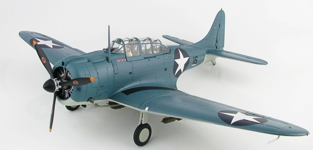 SBD-3 Dauntless Black 16 of Scouting 71,VS-71 USS Wasp   1:32