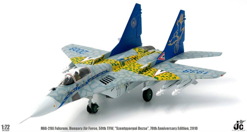 MiG-29A Fulcrum Hungarian AF 70th Anniversary Edition  (ca. Jan. lieferbar)