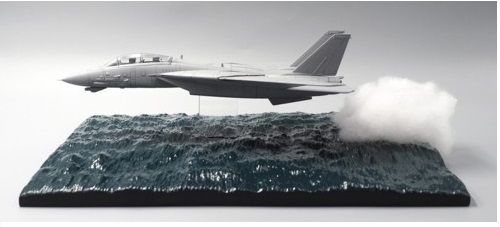 OCEAN LOW PASS DIORAMA BASE (AIRCRAFT NOT INCLUDED)