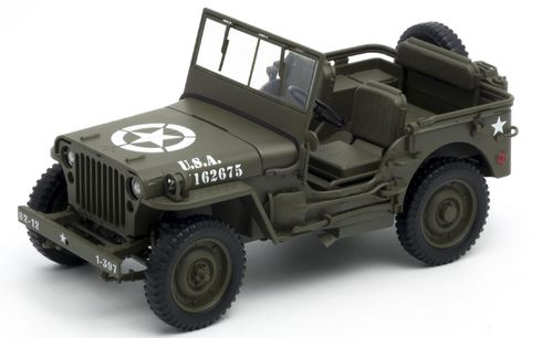 Jeep Willys MB WWII US Army 1941,  1:18