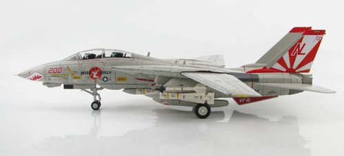 "F-14A Tomcat ""Miss Molly"" VF-111 Sundowners mit 6 x AIM-54, 2 x AIM-9"